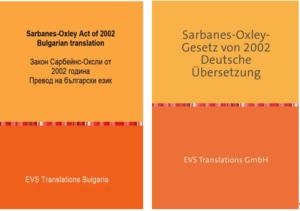 Sarbanes-Oxley Act – Übersetzung