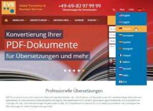 Wie funktioniert eigentlich die Übersetzung einer Webseite?
