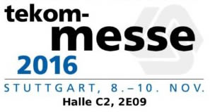 """tekom Annual Conference 2016 in Stuttgart – """"Market Place for Technical Communication"""""""