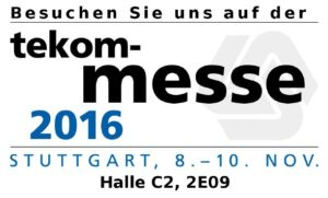 """tekom-Jahrestagung 2016 in Stuttgart – """"Marktplatz für Technische Kommunikation"""""""