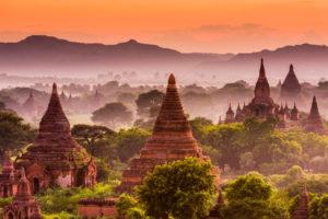 Бирмански черти на Мианмар