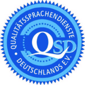 EVS Translations adhère à l'association professionnelle Qualitätssprachendienste Deutschlands e.V. – traduction professionelle