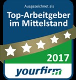 Named Yet Again as a Top Medium-Sized Employer in 2017