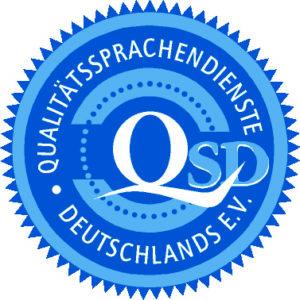20 Jahre im Dienste der Qualität bei Übersetzungen – <br>herzlichen Glückwunsch QSD e.V.
