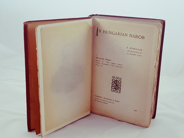 Profound Admirations for an Illustrious Hungarian Romancer and a Prolific Translator